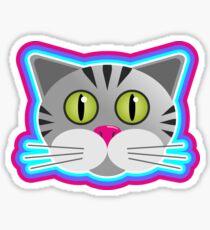 Cat vector Sticker