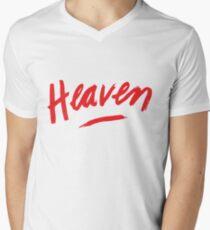 Heaven (Red) Men's V-Neck T-Shirt