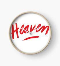 Heaven (Red) Clock