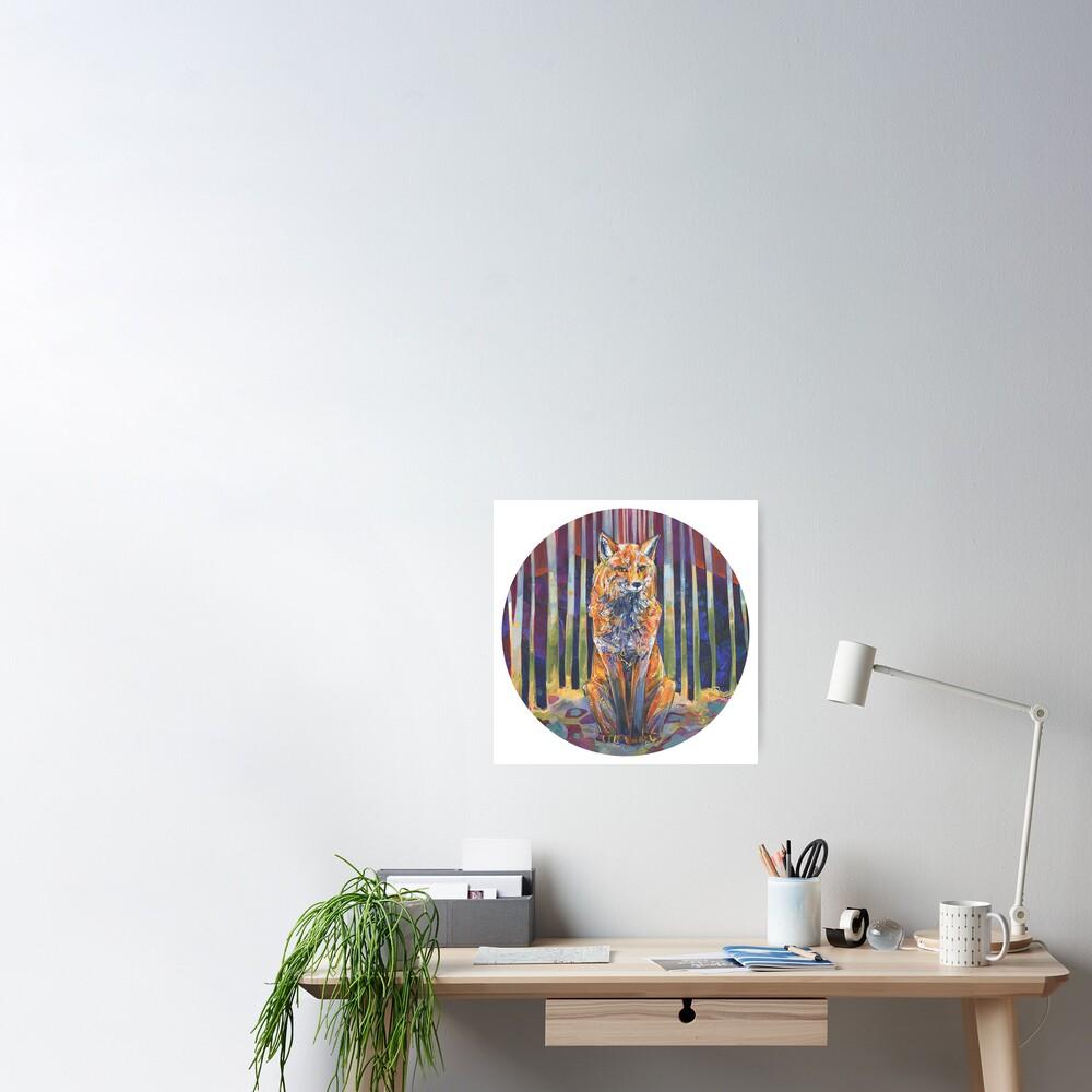 Apprivoisée painting - 2018 Poster
