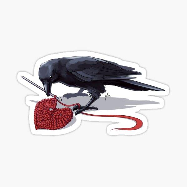 Crowchet Sticker