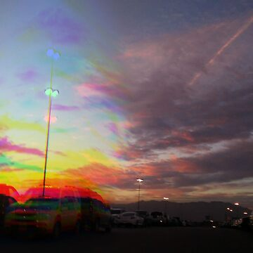 Sunsets on the Eastside - Glitch by Hey-Argentina