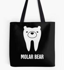 Molar Bear   Cute Dentist Orthodontist Graphic Tote Bag