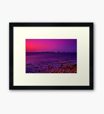 """Twilight Time"" Framed Print"