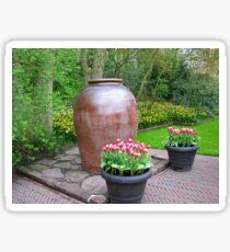 Giant Vase - Keukenhof Gardens Sticker