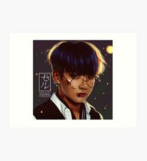 Jungkook Alter Ego Boyfriend by XXerru Art Print