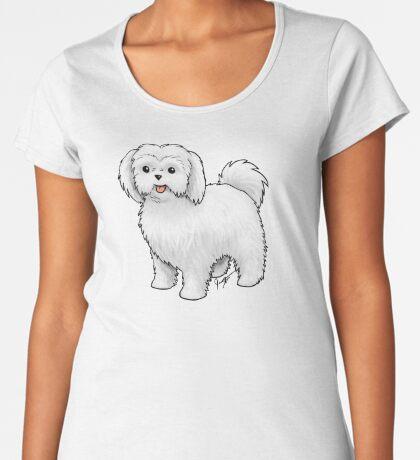 Maltese - Puppy Cut Women's Premium T-Shirt