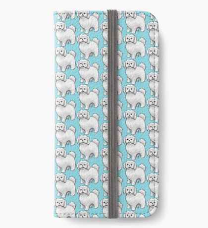 Maltese - Puppy Cut iPhone Wallet