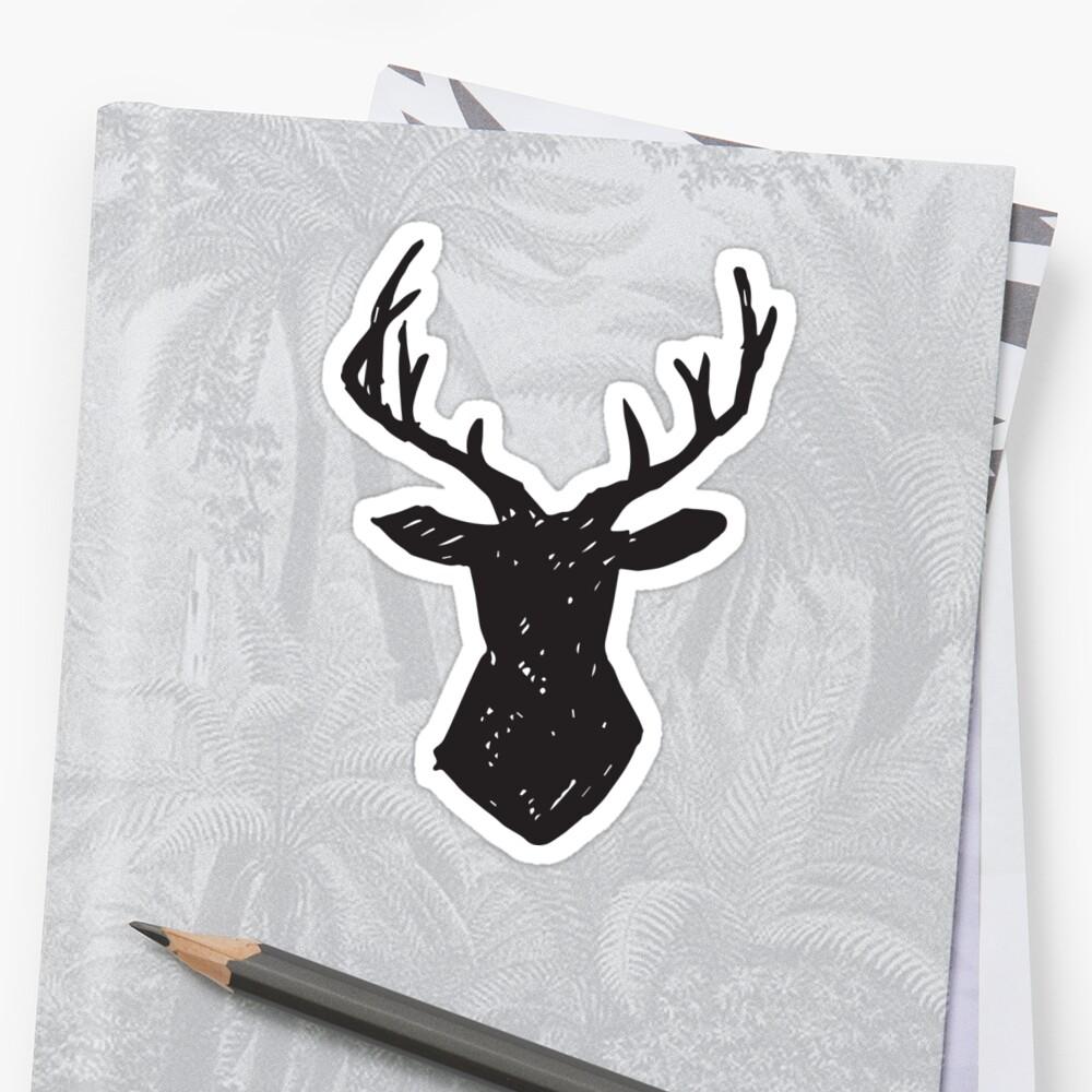 Woodland - Deer Antlers by Nicola Matarasso