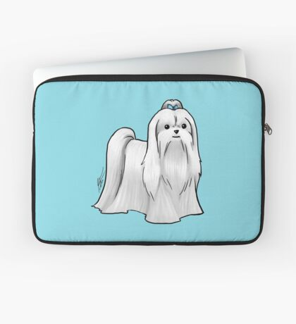 Maltese - Show Cut Laptop Sleeve