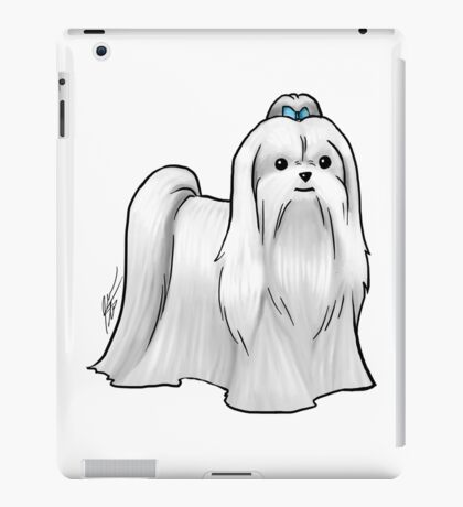 Maltese - Show Cut iPad Case/Skin