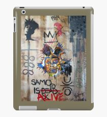In memory Basquiat iPad Case/Skin