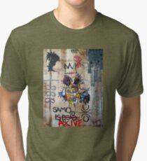 In memory Basquiat Tri-blend T-Shirt