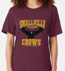 Smallville High: Home of the Crows Slim Fit T-Shirt