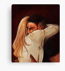 Kastle: I missed you Canvas Print