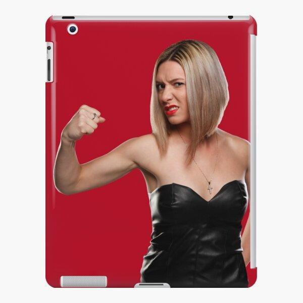 Fight Like a GIRL in black dress iPad Snap Case