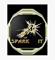 SPARK IT UUAP EPS Photographic Print