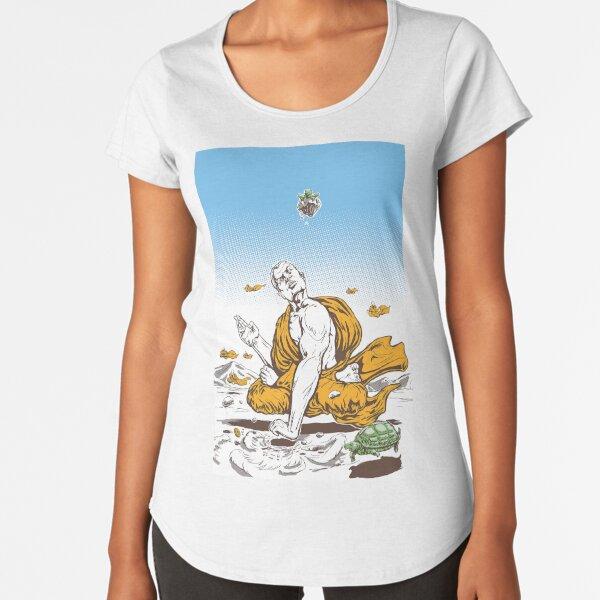 The Enlightened Monk Premium Scoop T-Shirt