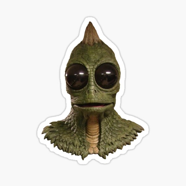 Land of the Lost - Sleestak Sticker