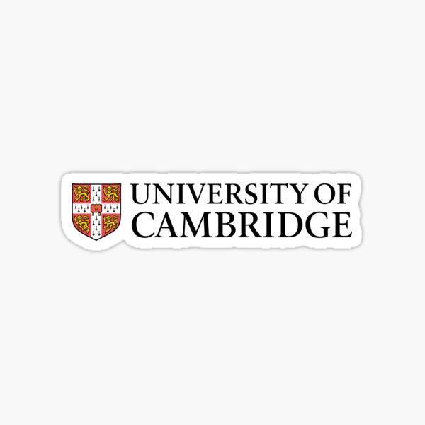 University of Cambridge Sticker