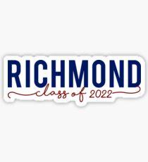 Richmond University class of 2022 Sticker