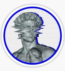 MARBLE STATUE AESTHETICS DESIGN Sticker
