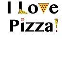 I Love Pizza by hmattiam