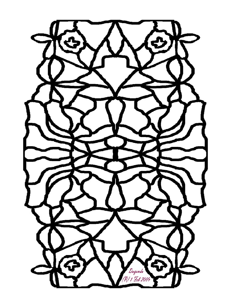OWL FOR COLOURING-IN  by Dayonda
