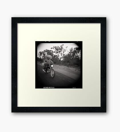 Motohat Framed Print