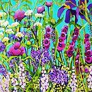 Cottage Garden by marlene veronique holdsworth