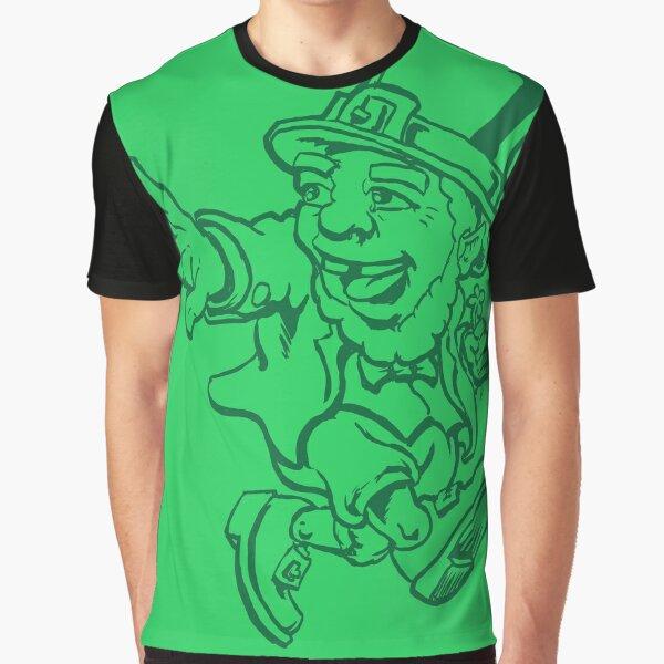 Lucky Shirt Leprechaun Graphic T-Shirt