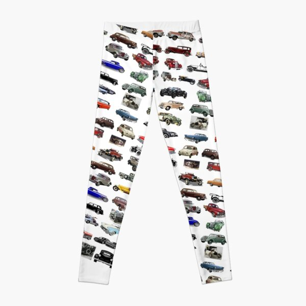 ancient, pristine, antique, early, carriage, coach,  passenger car, motor Leggings