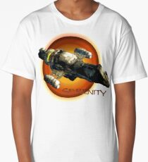 Firefly - Serenity Spaceship Long T-Shirt