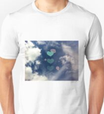 where the clouds part Unisex T-Shirt