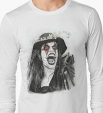 Portrait of Johannes Eckerström from Avatar Long Sleeve T-Shirt