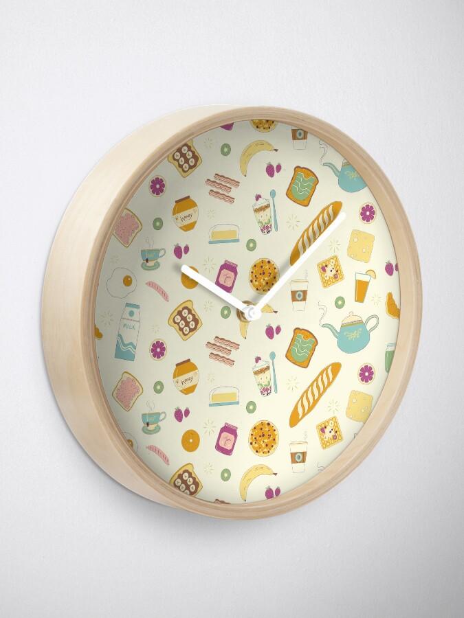 Alternate view of Who else loves breakfast? Clock