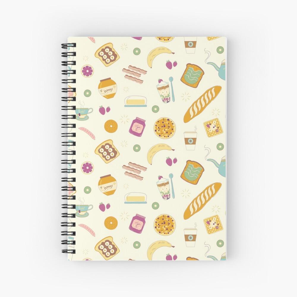 Who else loves breakfast? Spiral Notebook