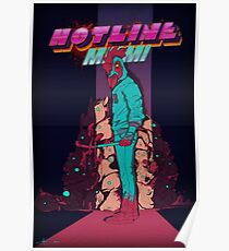 Hotline Miami Jackets Slaughter  Poster