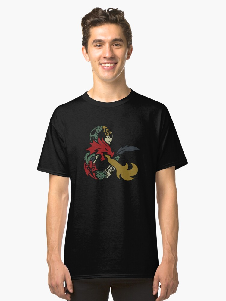Dungeons & Dragons Classic T-Shirt Front
