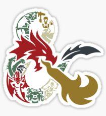 Dungeons & Dragons Sticker