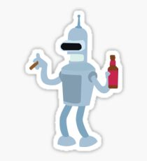 Bender Rodriguez | Futurama Sticker