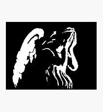 Crying Angel Photographic Print