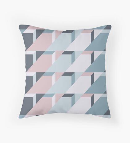 Nordic Winter #redbubble #nordic #pattern Throw Pillow