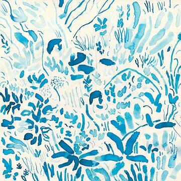 Blue grass below by DerekBacon