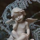 ceramic angel by dagmar luhring