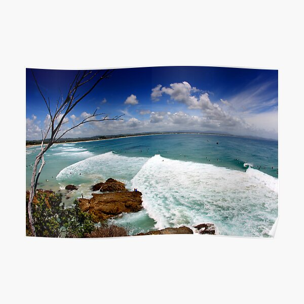 The Pass, Byron Bay Poster