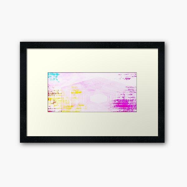 Rise + Rise  Framed Art Print