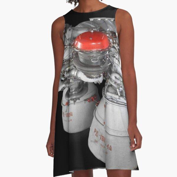 Liquid-propellant rocket A-Line Dress