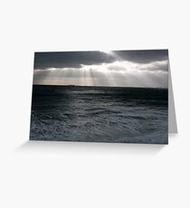 """ Early Morning over Falmouth Bay"" Greeting Card"