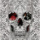 Lace Skull Light by Ali Gulec